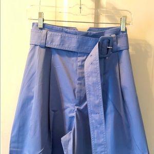 Light bleu. High waisted .  Zara Pants